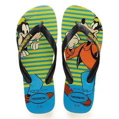 Chinelo Havaianas Disney Stylish Amarelo - Pateta Original
