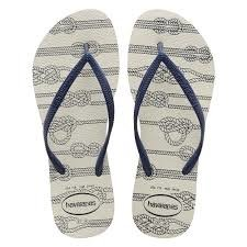 Chinelo Havaianas Feminino Slim Nautical Ancora Original