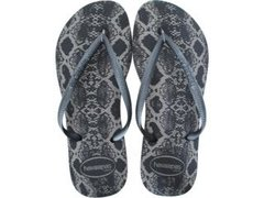 Chinelo Havaianas Feminino Slim Animals Cza Chumbo Original