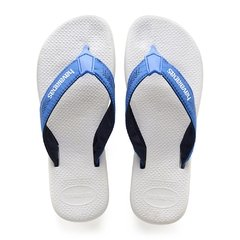 Chinelo Havaianas Masculina Surf Pro Bco Azul Colecao 2019