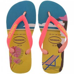 Chinelo Havaianas Feminino Top Fashion Ferrugem Original