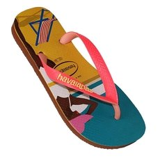 Chinelo Havaianas Feminino Top Fashion Ferrugem Original na internet