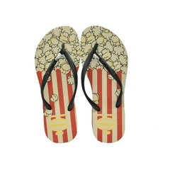 Chinelo Havaianas Kids Slim Pop Bege Palha Original