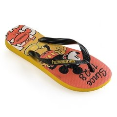 Chinelo Havaianas Disney Stylish Mosta Mickey - Colecao 2019 - FootWorld - O Mundo a seus pés!