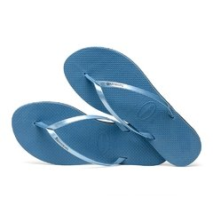 Chinelo Havaianas Feminino You Metallic Azul Original na internet