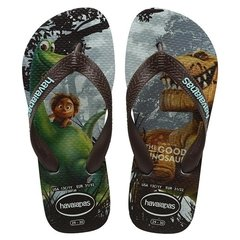Chinelo Havaianas Kids Good Dino Verde Mentol Original
