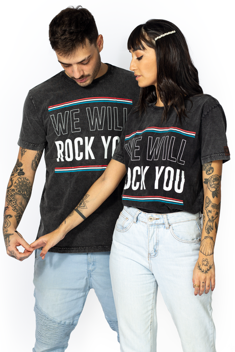 CAMISETA ROCK YOU OVER