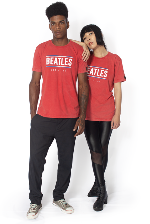 CAMISETA BEATLES LET IT BE