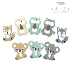 Mordillos  Silicona Animales - Nanay «Handmade with care»