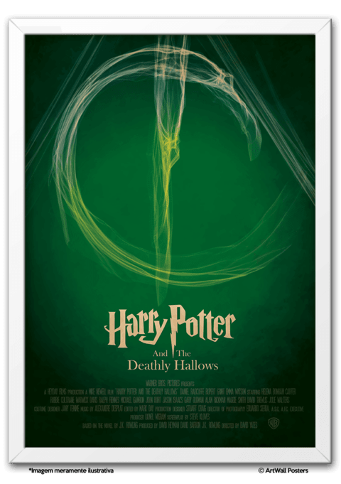 Harry Potter and the Deathly Hallows - comprar online