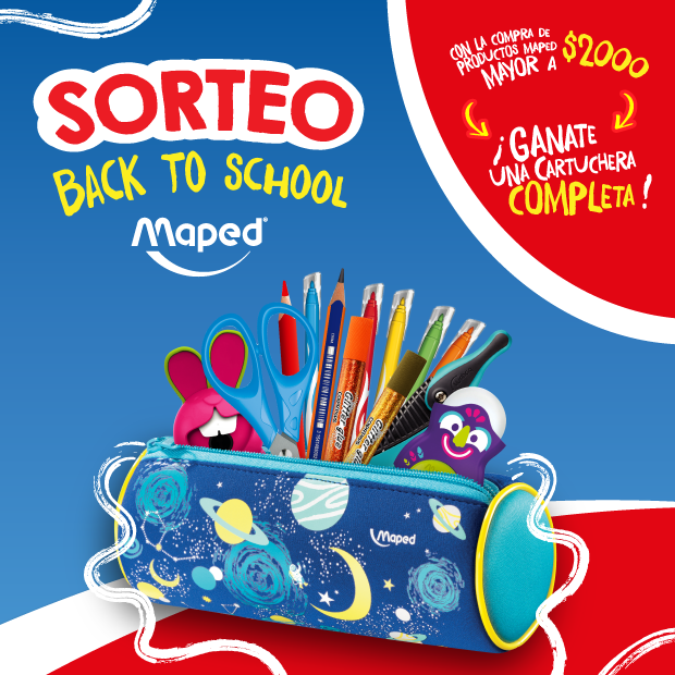¡SORTEO MAPED!