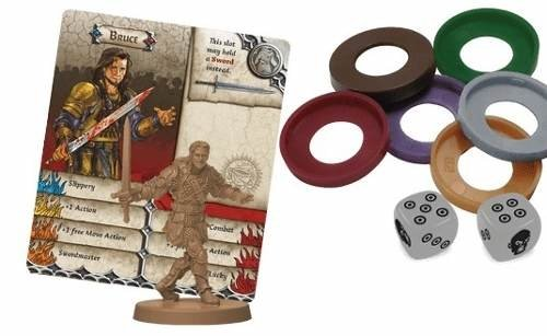 Zombicide Black Plague: Game Night Kit 1