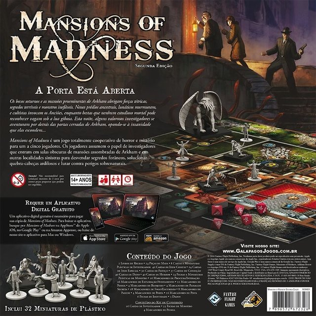 Mansions of Madness - Masmorra Board Games