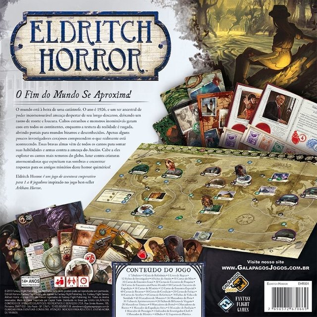 Imagem do Eldritch Horror