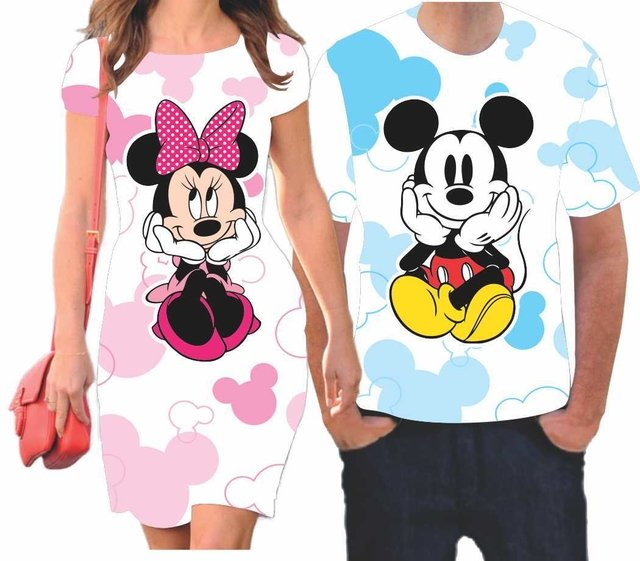 Kit Namorados - Mickey e Minnie - comprar online