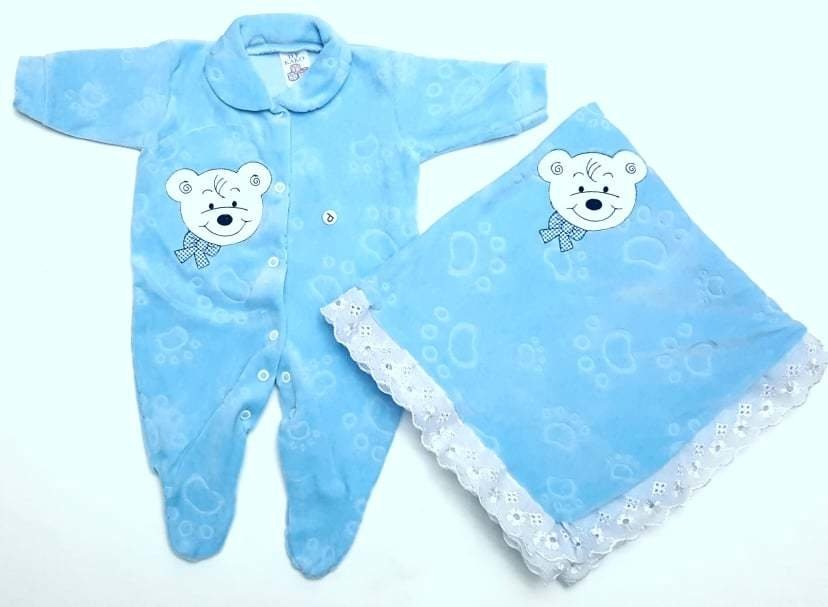 8d6939b13635 Saída de Maternidade em Plush - BEBÊ PANDA KIDS