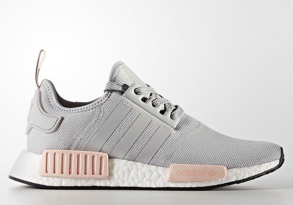 adidas nmd gris y rosa c97304