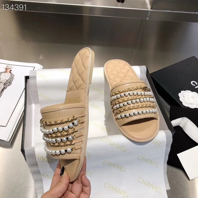 Chinelo slide chanel