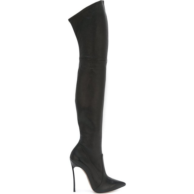 BOTA OVER THE KNEE PRETA - comprar online