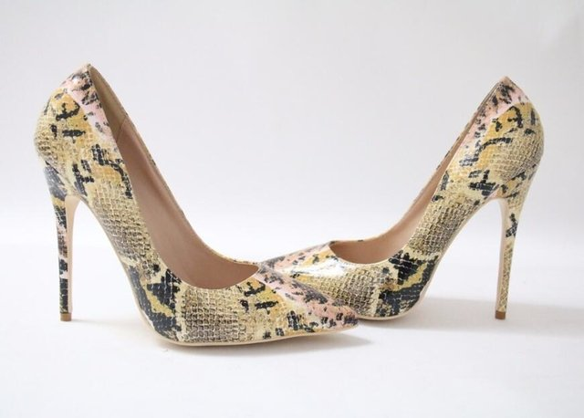 SCARPIN ANIMAL PRINT ESTAMPA COBRA - Lys Shoetique