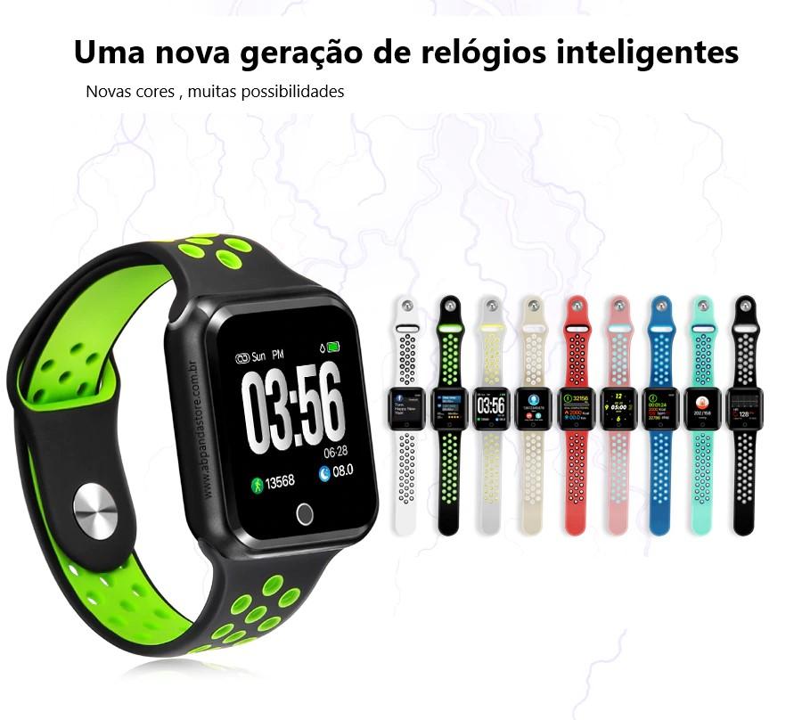 8717382f549 Relógio Smartwatch OLED Pró Séries 2 - AB Panda Strore