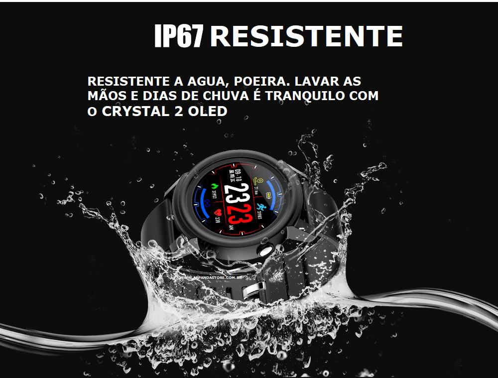 Relógio Smartwatch crystal 2 OLED