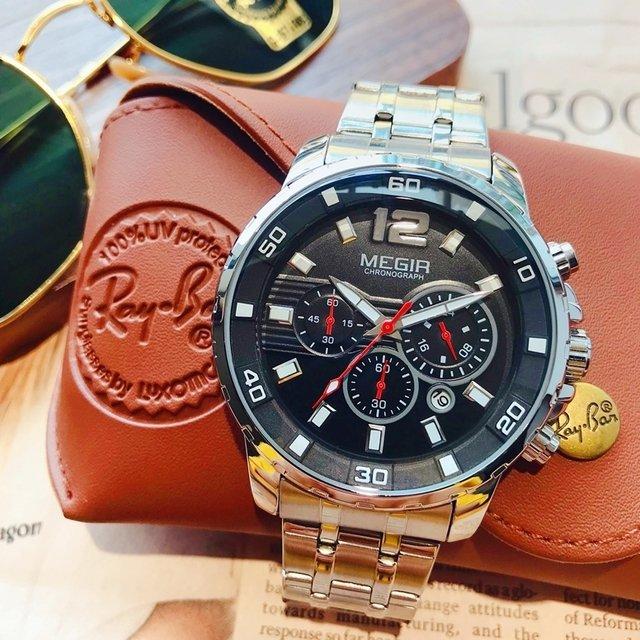 Relógio Megir Executive - AB Panda Store