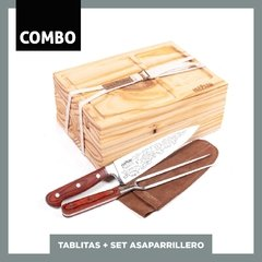 COMBO  TABLITASx6 + SET ASAPARRILLERO