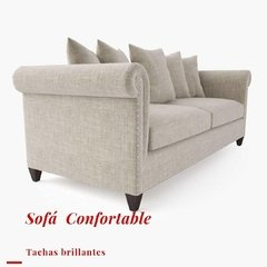 Sofa Confortable con tachas