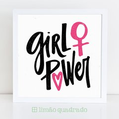 Quadro Feminista Girl Power