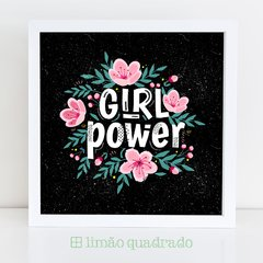Quadro Girl Power