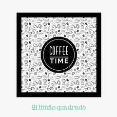 Quadro Decorativo Coffee Time