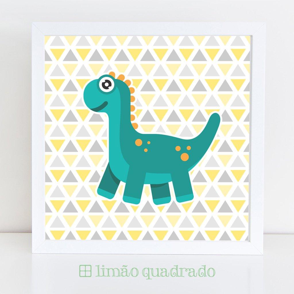 3aab6c2d2ba11d Quadro Dinossauro