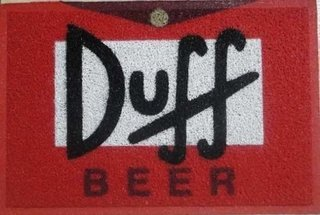 Tapete Capacho Duff Beer A Do Simpsons -......