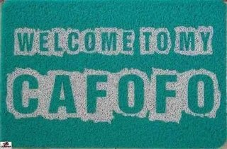 Tapete Capacho - Welcome To My Cafofo -......