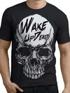 Remera Calavera Wake Skull Wake Up Dead