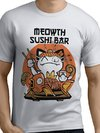 Remera Pokemon Meowth Sushi Bar