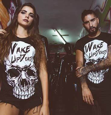 Remera Wake | Wake up Dead