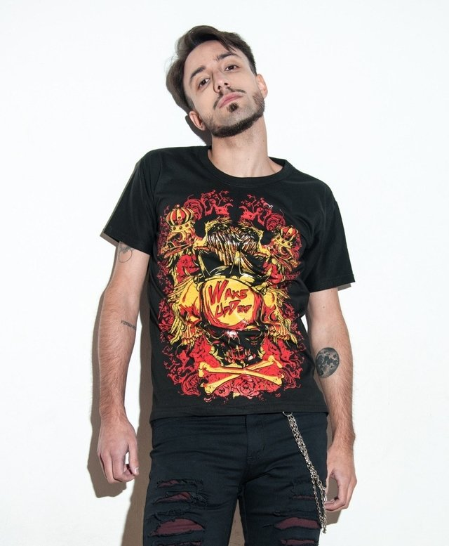 Remera Anarchy | Wake up Dead - comprar online