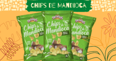 Chips de Mandioca Barbecue 50g Sertanitos na internet