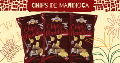 Chips de Mandioca Barbecue 50g Sertanitos