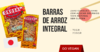 Barras de Arroz Integral