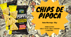 Chips de Pipoca - Popp Natural na internet