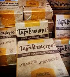 Tapi Brownie - Kit com 12 Brownies de Tapioca de 55gr