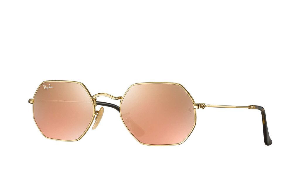 Ray Ban Round Octogonal RB3556N 001/Z2