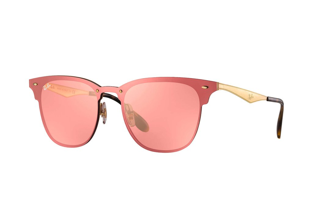 Ray Ban Blaze Clubmaster RB3576N 001/4E