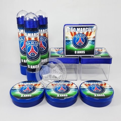 Kit Festa Personalizado Paris Saint Germain
