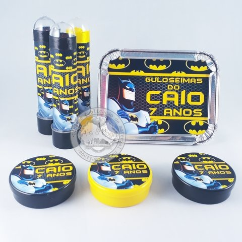 Kit Infantil Personalizado Batman