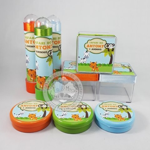 Kit Personalizado Safari