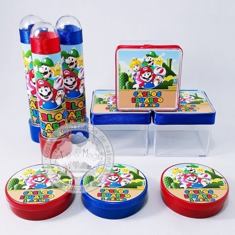 Kit Super Mario Bros Personalizado